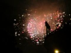 神宮外苑花火大会。