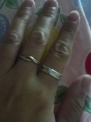 指輪の意味!?