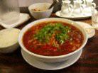 真っ赤に燃えた坦々麺