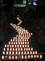 アフロと奈良燈火会