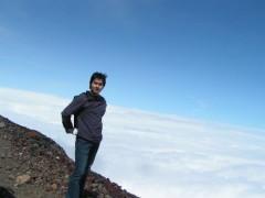 富嶽登拝 最高地点へ