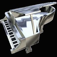 ピアノの音色。