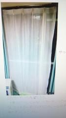 ひっさびさのカーテン洗濯・・