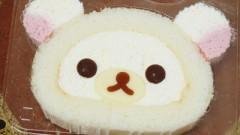 コリラックマロールケーキ