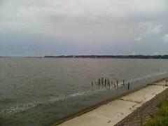 湖に行ってきました。実験で・・・