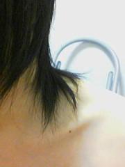 髪がちょっと伸びてきました