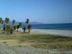 あんまり海がきれいだったので・・・