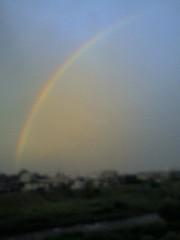 虹だぁ☆☆
