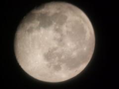 ハワイで見る満月