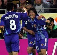 日本代表惨敗・・・