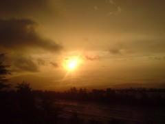 日の出の動画