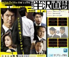 TVドラマ『半沢直樹』第1話
