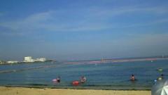 海にいきました。