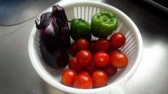 家の野菜です。\(^^)/