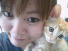 愛猫☆桃ちゃんと2 ショット
