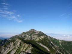 北アルプス、笠ガ岳からの眺望は最高でした!