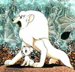 ジャングル大帝のレオの身体が白い訳