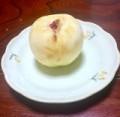 福島の桃(ウラ)