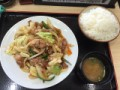 野菜炒め^_−☆