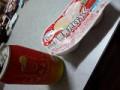 ジュース(お酒)と雪見だいふく~(  ´ω`  )